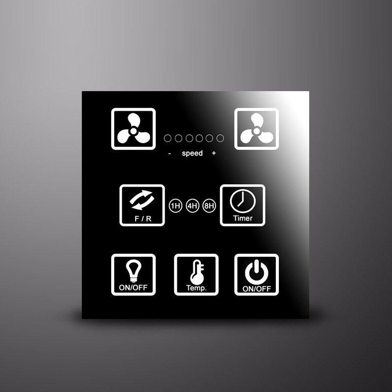 Wandsteuerung für KlassFan DC Ventilatoren mit WiFi Ready