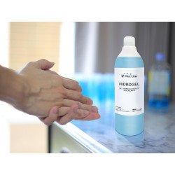 Hydroalkoholisches Gel 500 ml Behälter.