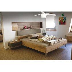 Barca von LBA Home. AC Deckenventilator mit dimmbares LED Licht, 132 Cm, Rückwärtslauf, mit Zweifarbige Flügeln in Weiß und hell