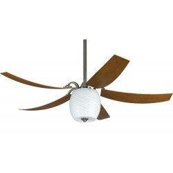 MARIANO PWW Deckenventilator 132 Cm. Modern, gebogene Flügel, Beleuchtung. Fernbedienung. Ultra ruhiger Lauf