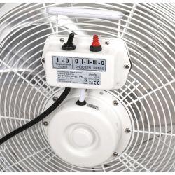 Hochgeschwindigkeits Industrieventilator Hochleistungs 40 Cm 110 Watt, Höhe 147 Cm ultra leistungsstark.