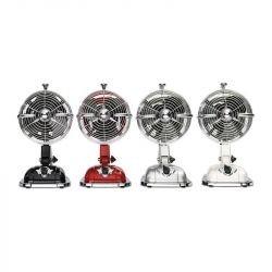 Tischventilator, rot, casafan Retrojet, in schönem Retro-Stil