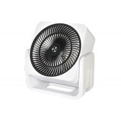Casafan Airos, mini persönlicher Hochgeschwindigkeits-Ventilator weiß und chrom, 3 Jahre Garantie