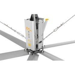 HVLS AC Stator OM-KQ-5E 220V. Industrieller Deckenventilator, 5.5 m, für 1050 m² Flächen, Hocheffizienter Design.