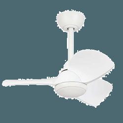 Margaritta - kleiner DC Deckenventilator mit Beleuchtung und Fernbedienung, 71 cm