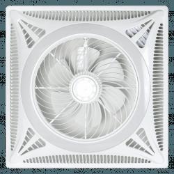 Ceiling Turbine - Deckeneinbauventilator mit dimmbarem Licht und Fernbedienung, ideale Lösung für abgehängte Decken
