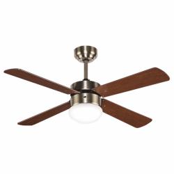Libelle - Deckenventilator mit Licht und Fernbedienung, 107 cm, mit AC Motor