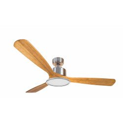 Modulo by KlassFan - DC Ceiling Fan, 133 cm, for heat recovery, with light, thermostat, remote, DC3_P6SW1133_L2CH