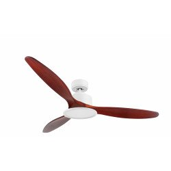 Modulo by KlassFan - DC Ceiling Fan, modern look, heat recovery, wooden blades, thermostat, DC4_P5RW166_L2WI