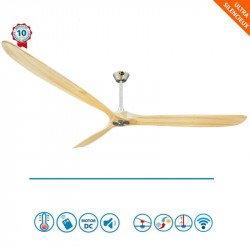 Design HVLS Deckenventilator Big Géronimo 223 cm, Thermostat und Wi-Fi