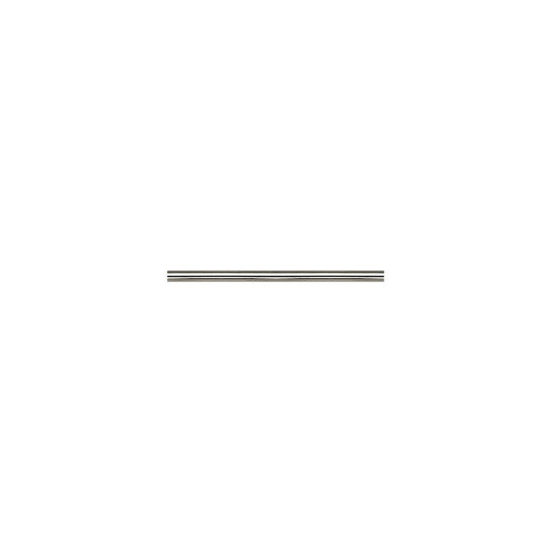 Deckenstange für Deckenventilatoren, Aluminium gebürstet, BA, 30,5 Cm