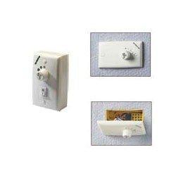 Industry von LBA Home - Deckenventilator  142 cm., weiß, mit Fernbedienung