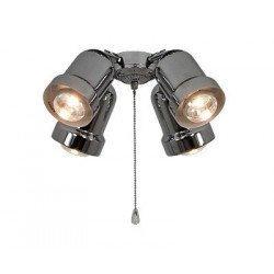 Beleuchtungssatz für Deckenventilatoren Light 4, Versionen Eco Elements, Carribean Dream