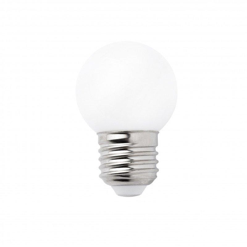 Packung mit 4 LED-Lampen E27 3W 2700K G45 MAT