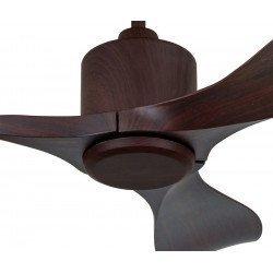 Eco Aviador - Designer Deckenventilator, Nussbaum, 103 Cm, Fernbedienung