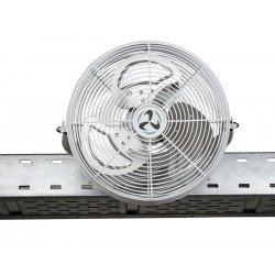 Hochleistung Industrie-Windmaschine, 40 Cm IP44, 43 Watt Rotation bei 180 °.