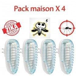 Insektenkiller Pack Z4P für das ganze Haus, Sommer ohne Stiche von Moskitos!