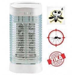Insektenkiller, Z112, 10 m², Aluminium, 2 x 15 Watt mit Aschenbecher