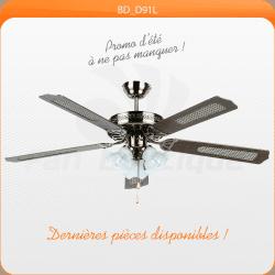 Deckenventilator 132 cm, ideal für Räume 20-40 m², Vor-Rückwertsfunktion