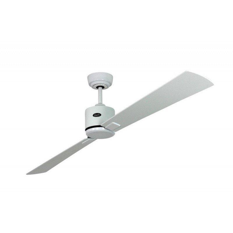 Deckenventilator DC, modern 180 Cm weiß lackierte Flügel, weiß lackiert oder grau, Fernbedienung, CASAFAN Eco Neo II WE