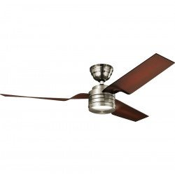 Hunter Flight BN- Designer Deckenventilator, leise, modern 132 cm