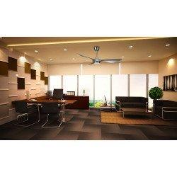 Helix von KlassFan limited DC-Deckenventilatoren Designer-Serie, kompakt, ultra-leistungsstark, mit LED-Beleuchtungssystem