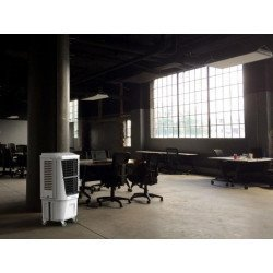 Rafraîchisseur d'air Rafy 120 pour grand volumes, ideal pour des ateliers, grands salons, restaurants ect