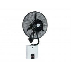 40 cm oszillierende Nebelmaschine mit Fernbedienung, ideal für offene Räume