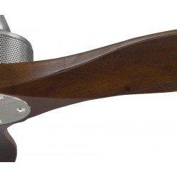 Soft KlassFan ein Deckenventilator im DC 178-cm-Design, ruhiger Lauf, Holzkflügel