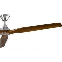 Soft von KlassFan - ein DC-Deckenventilator mit 178 cm, ruhig, Walnuss Flügel