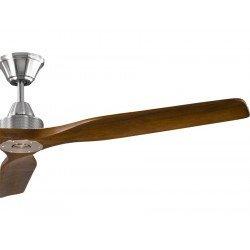KlassFan Soft ein DC-Deckenventilator im 152 cm-Design, Flügel Walnuss hell , extrem ruhig