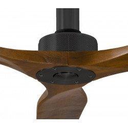 Sofyt von KlassFan Designer DC-Deckenventilator, 152 cm, Walnuss Flügel, ultra ruhiger Lauf