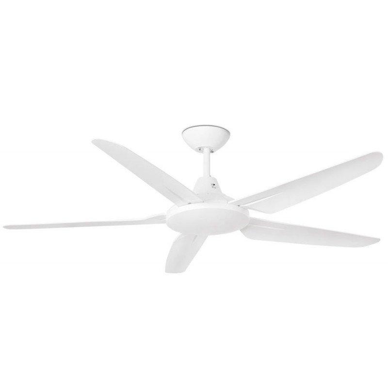 Deckenventilator, 132 cm, mit weißen Flügeln - Faro Meno.