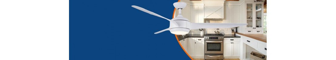 Deckenventilator für Küchen und Nassräume