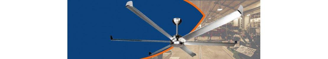 Industrielle Deckenventilatoren - mit schönem Design, leistungsvoll, robust