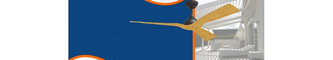 Große Auswahl an Außen Deckenventilatoren für Terrasse, Veranda, Pergola